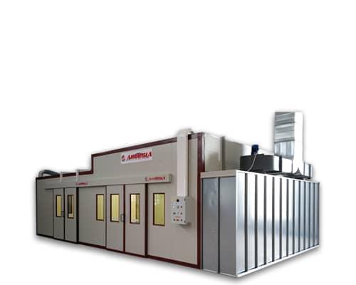 Impianto di verniciatura pressurizzato Ardesia D