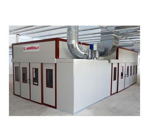 Impianti di verniciatura pressurizzati Ardesia D