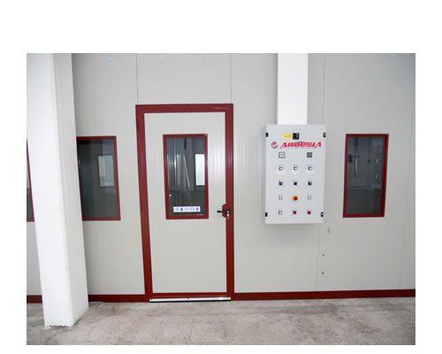 Cabine di verniciatura pressurizzate Ardesia D