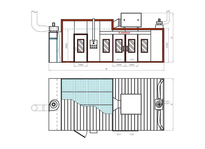 Schema tecnico Ardesia D by Ardesia