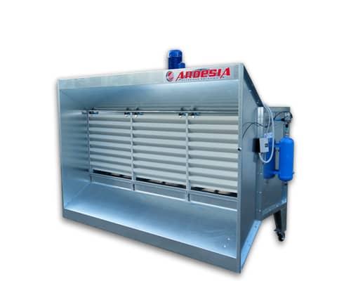 Cabine di aspirazione polvere Dust Roller