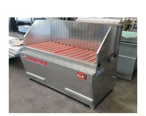 Banco aspirazione polveri Dust Table E