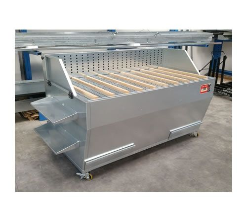 Banchi aspirazione polvere Dust Table E