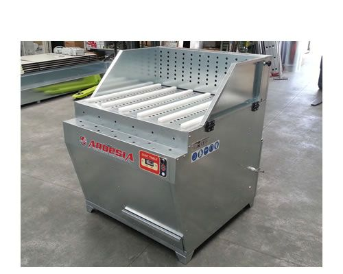 Banchi di aspirazione polvere Dust Table M