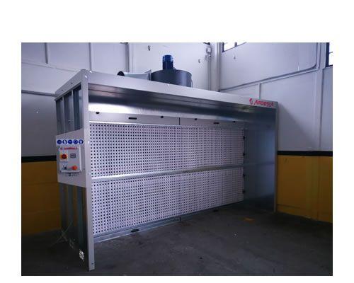 Cabine di verniciatura a secco Karbon