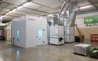 Sistema di verniciatura semi automatico Beam (Italia)