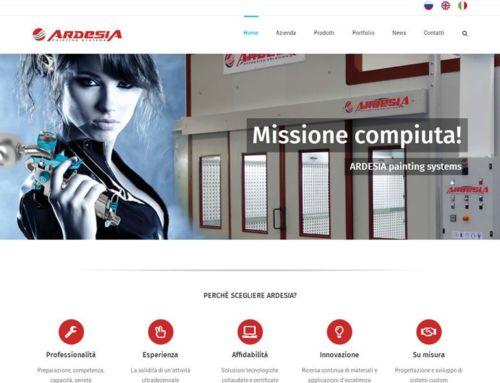 Nuovo sito internet ARDESIA