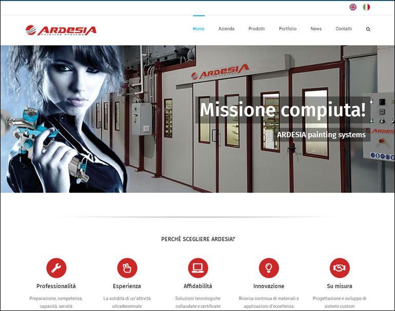 Nuovo sito internet Ardesia www.ardesiasrl.net