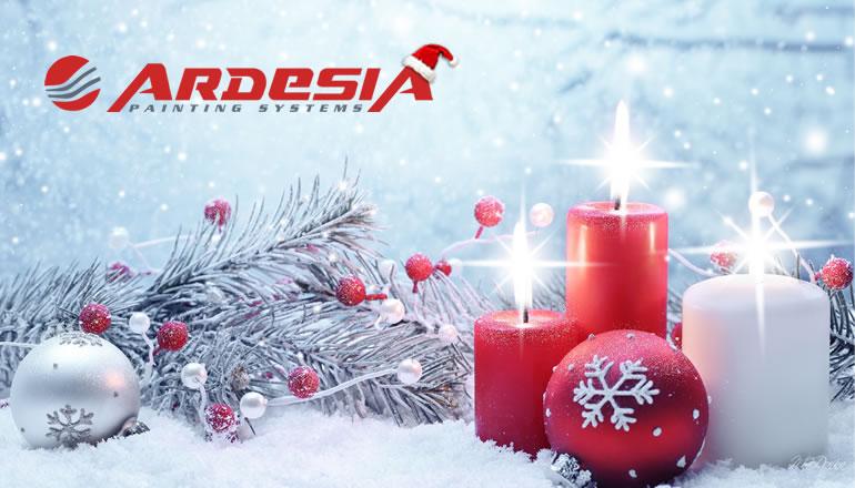 Ardesia chiusura Natale 2018 produzione impianti di verniciatura
