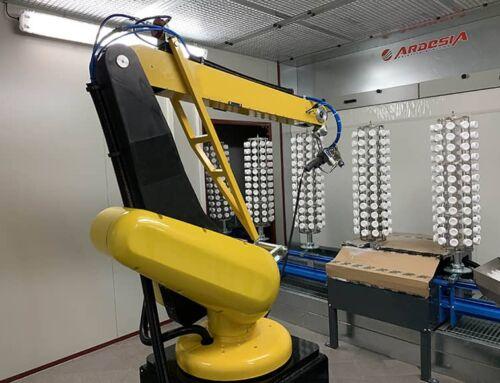 Ardesia installa linea automatica di verniciatura in Polonia