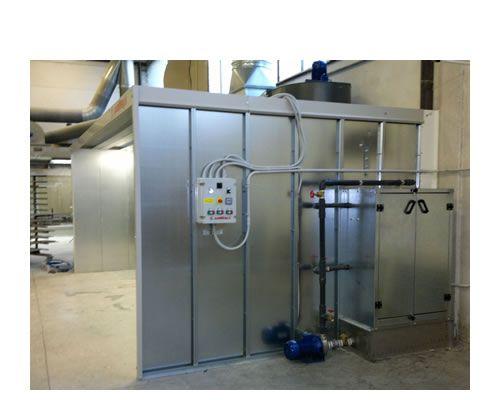 Impianto di verniciatura a velo di acqua Plus
