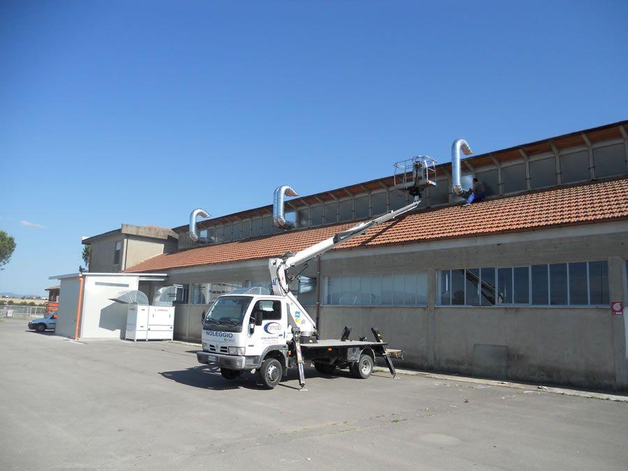 Impianto di verniciatura Le Cucine dei Mastri (Arezzo Italia) - Progetti Ardesia