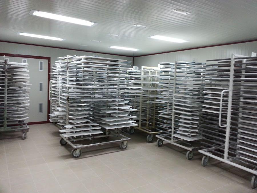 Impianto di verniciatura Aqwella (Russia) - Progetti Ardesia