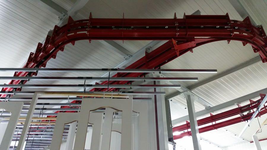 Impianto di verniciatura Grodnozhilstroy (Bielorussia) - Progetti Ardesia