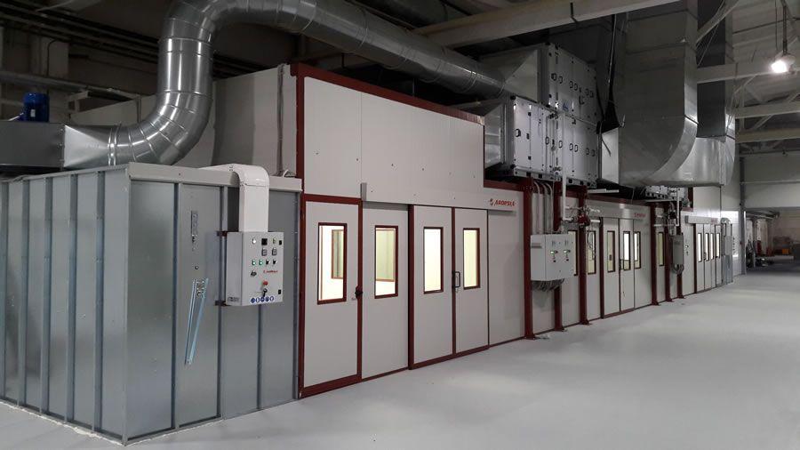 Impianto di verniciatura DMI Dyatkovo (Russia) - Progetti Ardesia