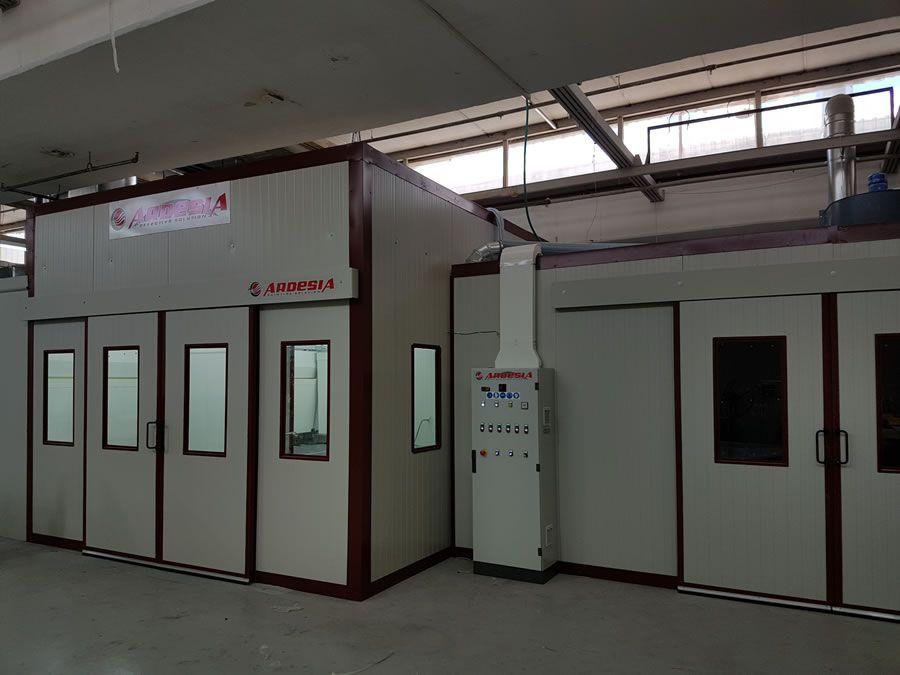 Impianto di verniciatura Formex (Israele) - Progetti Ardesia