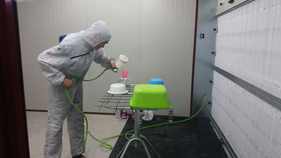 Impianto di verniciatura Zoom (Kazakistan) - Progetti Ardesia
