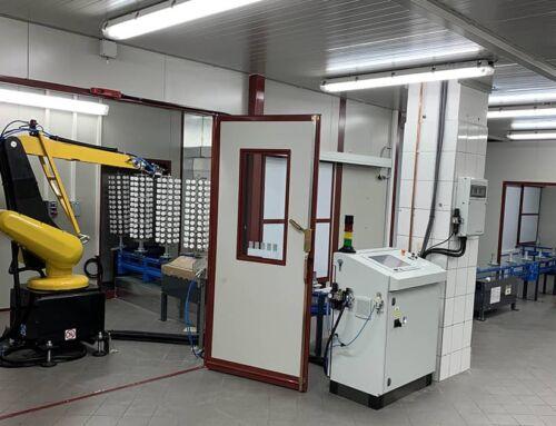 Ardesia installa linea automatica di verniciatura per DAFO in Polonia