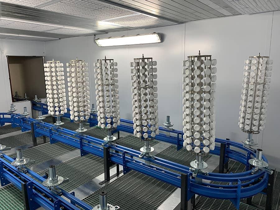 Ardesia installa linea automatica di verniciatura in Polonia per DAFO