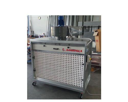 Impianto di verniciatura a secco Roller