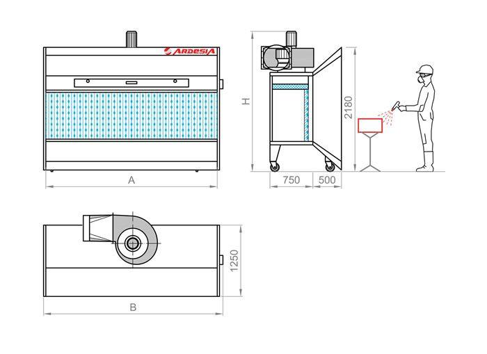 Roller Plus schema tecnico