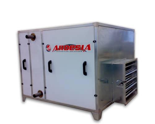 Gruppo di pressurizzazione ad acqua calda TH