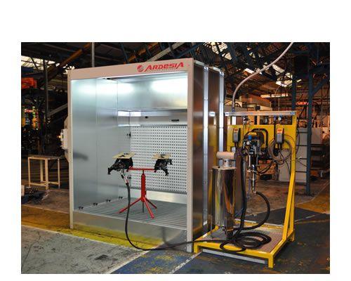 Impianto verniciatura Titanium