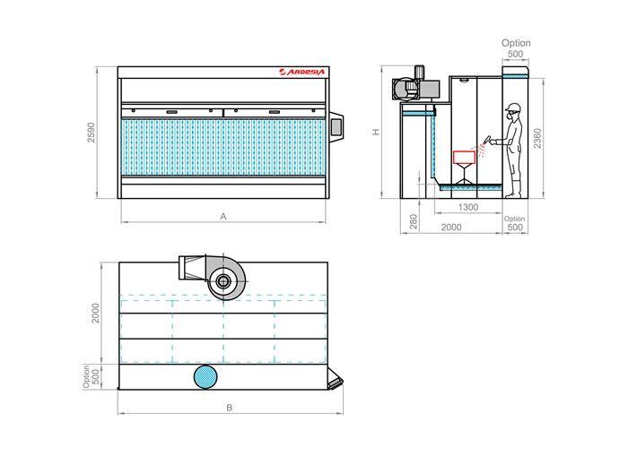 Titanium schema tecnico